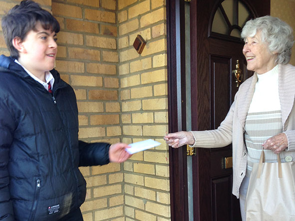 Meals on Wheels in Wolverton delivered by students