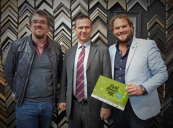 Herd about MK meet Mark Lancaster MP
