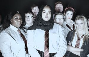 Cast of 'Extremism', Milton Keynes College
