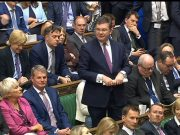 Iain Stewart during Prime Minister's Questions in the House of Commons