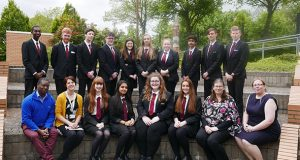Pupils from Walton High