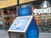 Tobacco 'Amnesty Shredder' in Bletchley high street