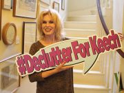 Joanna Lumley backs #DeclutterForKeech