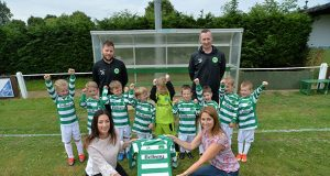 Bellway Homes donate kit to Newport Pagnell junior teams