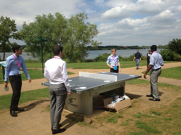 Free Ping Pong in Milton Keynes this Summer