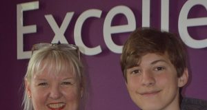 Mrs Marsden and Top Performer Charlie