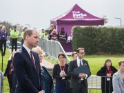 Duke of Cambridge in Milton keynes