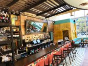Interior shot of Las Iguanas, Milton Keynes