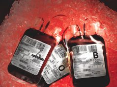 Blood for donating