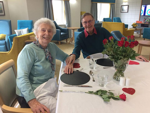 Valentines meal for Lakeview Lodge residents