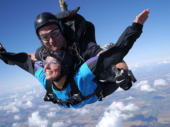 Skydive for Willen Hospice