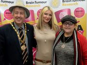 MK Mayor and Mayoress meet Caprice