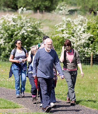Regular walks with The Parks Trust