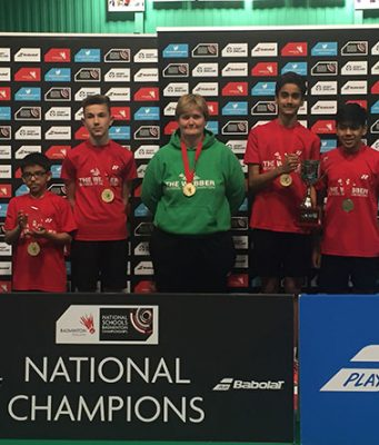 Webber School National Badminton Champions