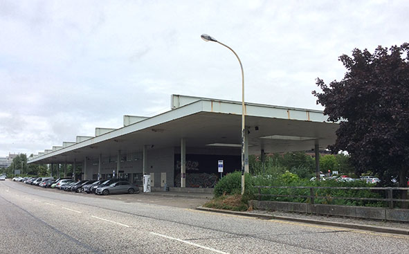 Milton Keynes' old bus station