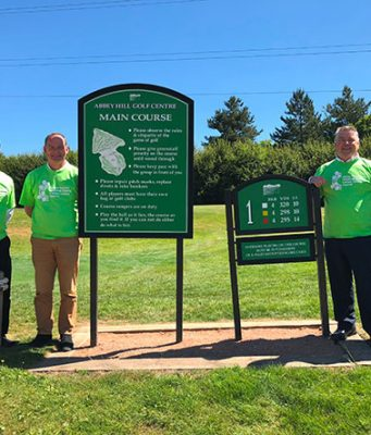 Golfers raise money for Cancer Centre Appeal